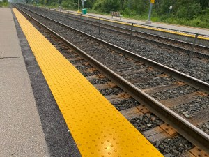 Image shows yellow strips.