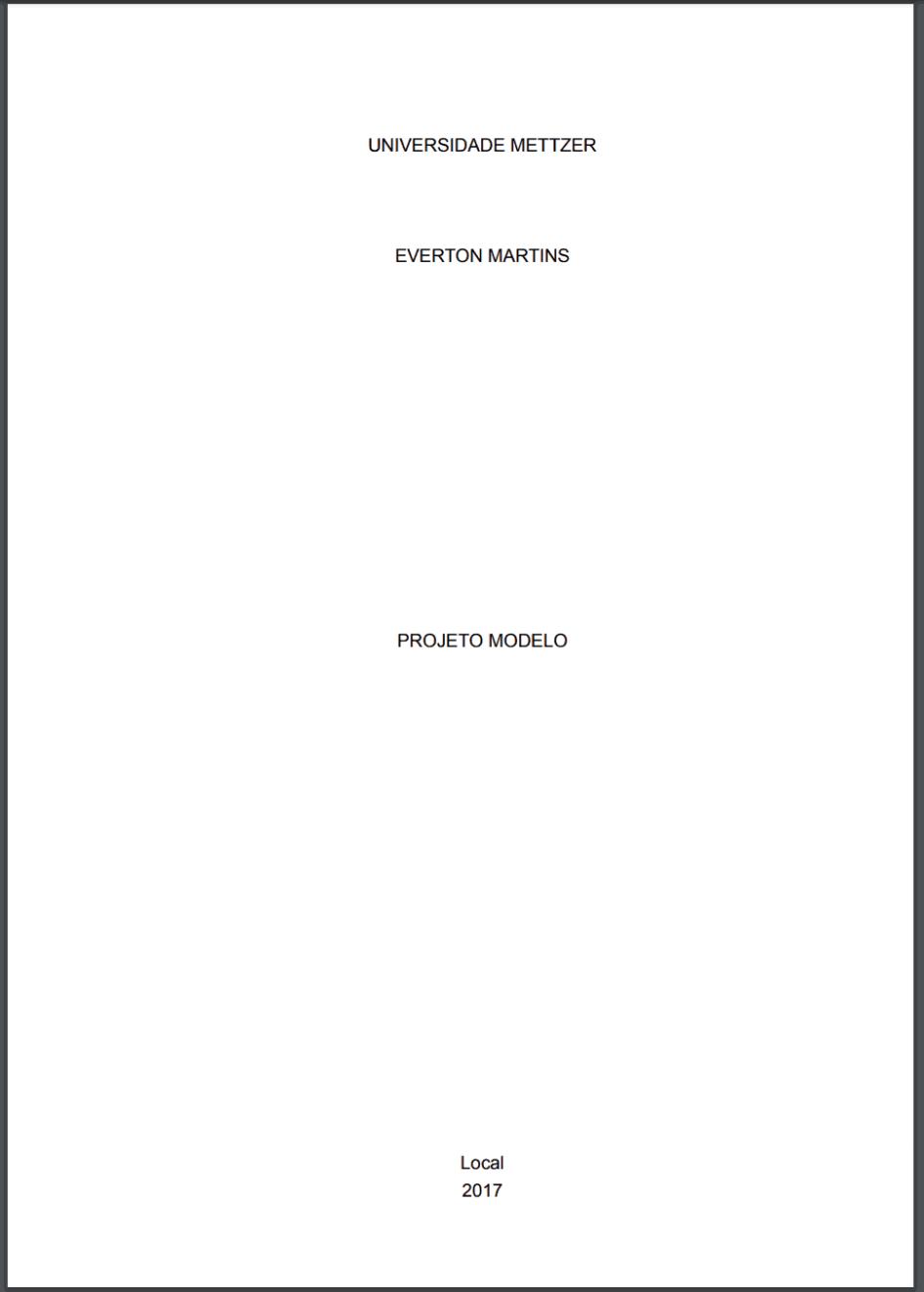Como fazer uma dissertação academica