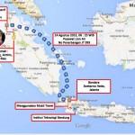 Ilustrasi Perjalanan dari Pekanbaru Menuju Kampus Institut Teknologi Bandung (ITB)
