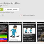Aplikasi Android Belajar Sepak Bola