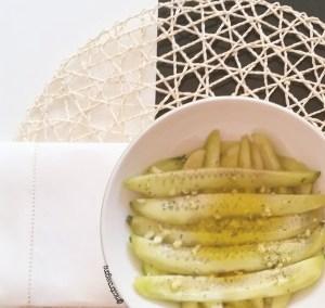 Receta de pepinos en vinagre