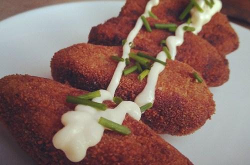 mi cabra vegana te trae la receta vegana de croquetas gourmet de setas shitake