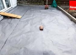 Terrassenbau – Steinterrasse selbst gebaut – Teil 4 – Unterbau aufschütten