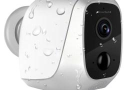 VisorTech IP-HD-Überwachungskamera IPC-580 mit App