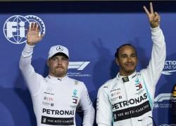 Mercedes-AMG Petronas Motorsport startet beim Formel 1-Saisonfinale 2019 auf dem Yas Marina Circuit von der Pole Position