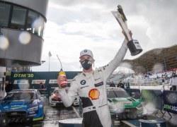 Sheldon van der Linde gewinnt für BMW als erster Südafrikaner ein DTM-Rennen