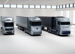 Daimler Trucks präsentiert Technologiestrategie für Elektrifizierung – Weltpremiere des Mercedes-Benz Brennstoffzellen-Konzept-Lkw