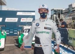 Marco Wittmann fährt für BMW auf dem Nürburgring auf das Podium
