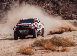 TOYOTA GAZOO Racing FIGHTING TILL THE END WITH PENULTIMATE STAGE WIN AT DAKAR 2021