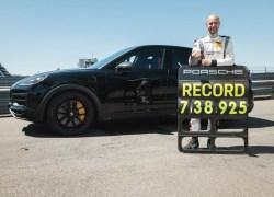 Performance-Cayenne bezwingt Nürburgring-Nordschleife in Rekordzeit