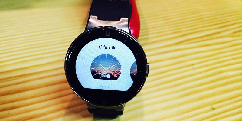 Alcatel Watch - aplikace změna ciferníku