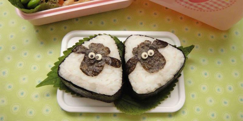 Sushi ovečka shaun