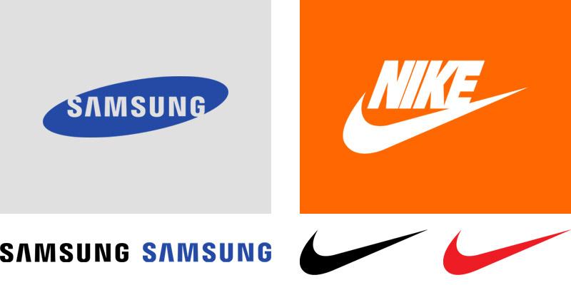 Logo Samsung a Nike