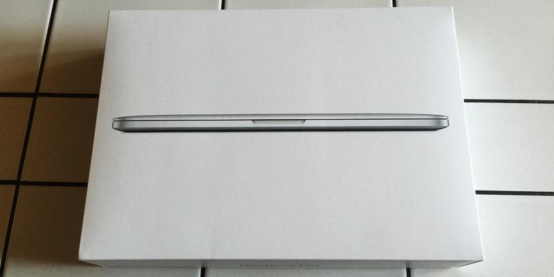 MacBook Pro Retina - To rozbalování mě nikdy neomrzí
