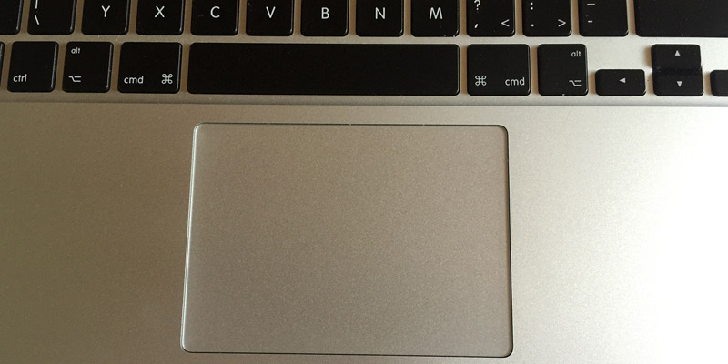 MacBook Pro Retina - Force Touch Trackpad