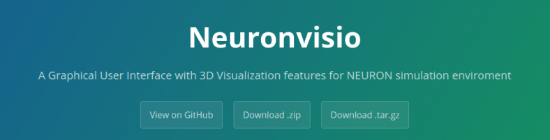 New Neuronvisio website