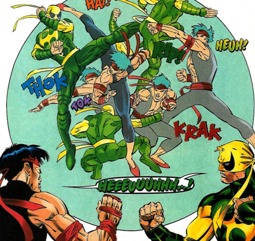 Iron Fist vs Shang-Chi