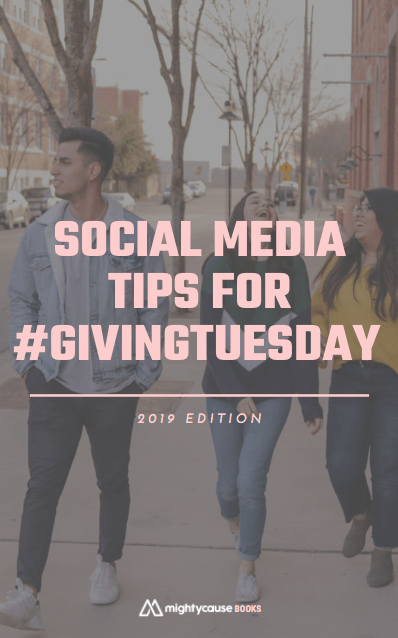 "cover of ""Social Media Tips for #GivingTuesday"""