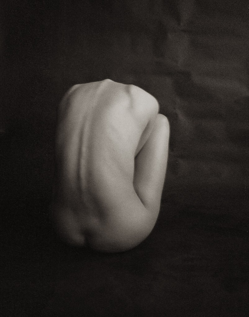 Nude Layla Oresme from developing colour C-41 film at home