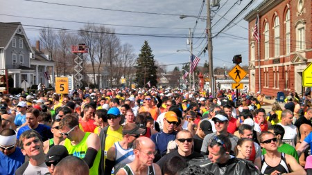 boston marathon start backward