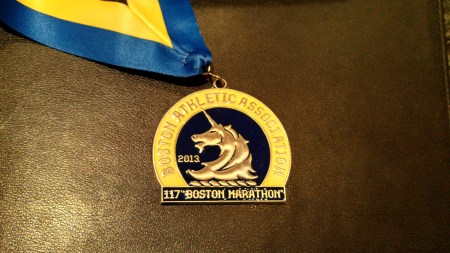 boston marathon medal