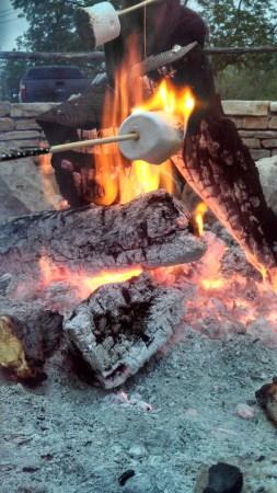 live fire smores