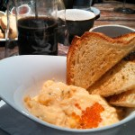 LaV Scrambled Eggs with Trout Roe