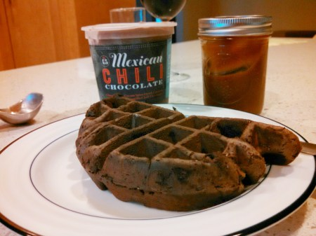 waffle brownie plain