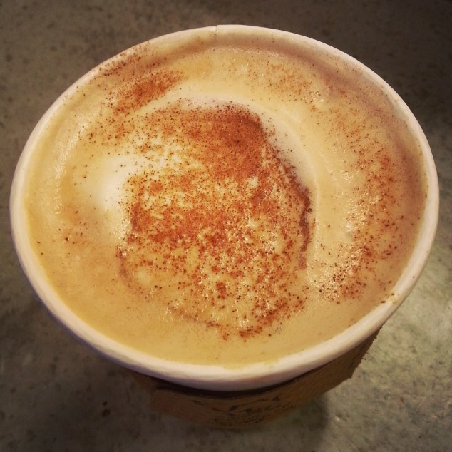 Easy Tiger Pumpkin Latte, photo courtesy of the inimitable Jeff Amador