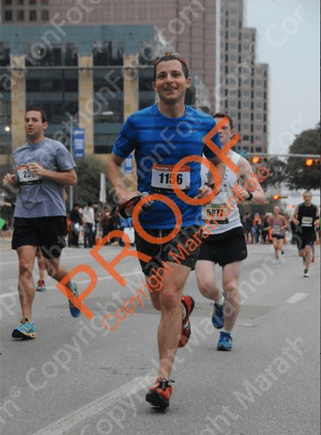 2015 Austin Marathon early