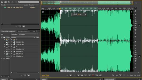 Taller de Edición de audio con Adobe Audition