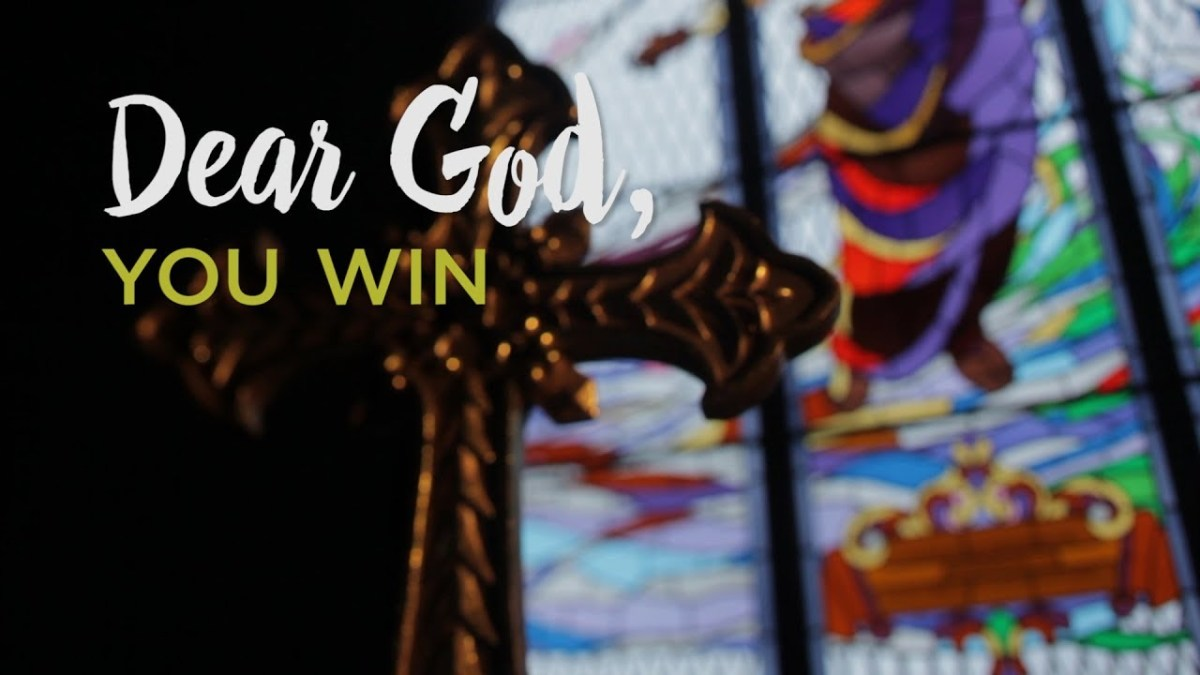 Dear God, You Win – YouTube