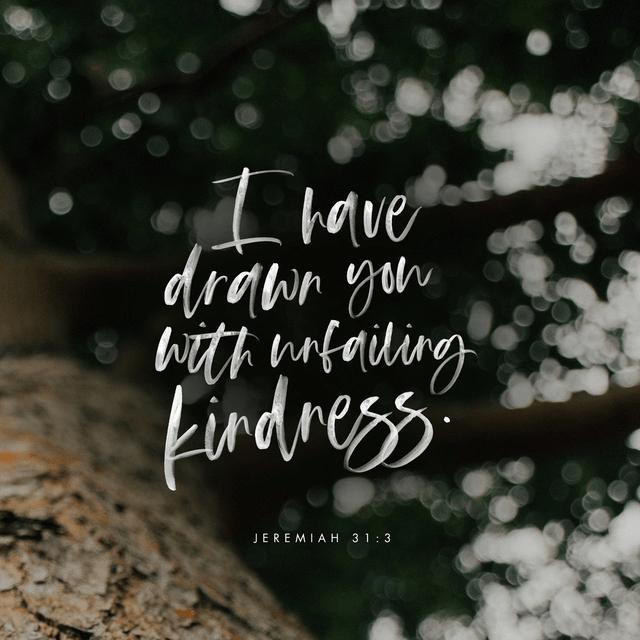 Jeremiah 31:3 NIV