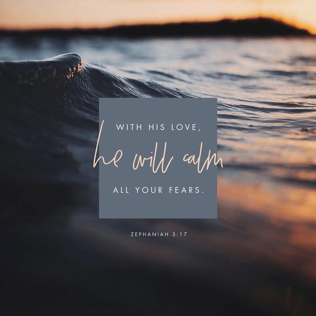 Zephaniah 3:17 NLT
