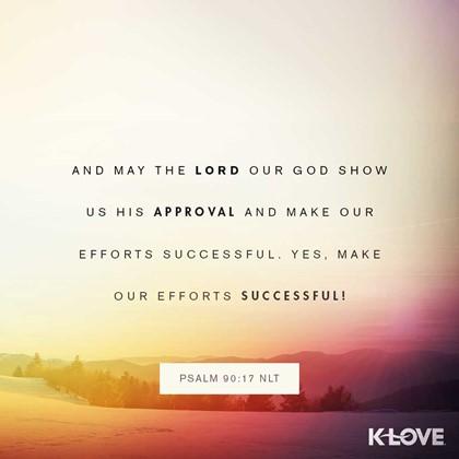 Psalm 90:17 NLT