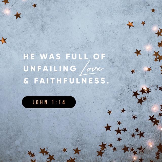 John 1:14 NLT