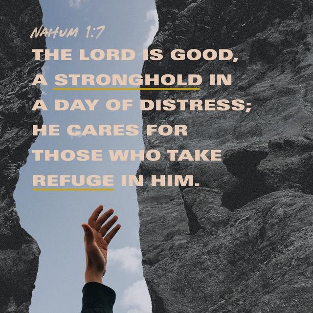 Nahum 1:7 CSB