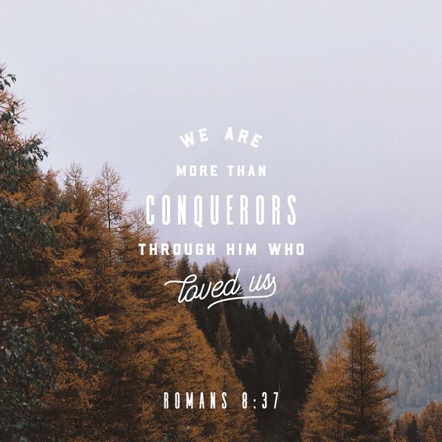Romans 8:37 NIV