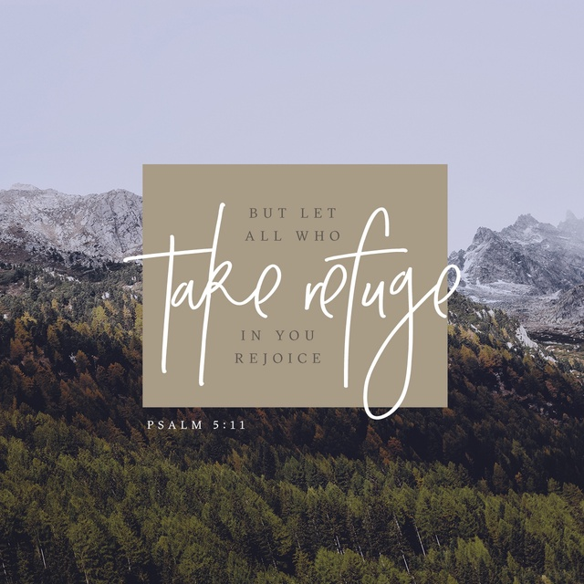 Psalm 5:11 NIV