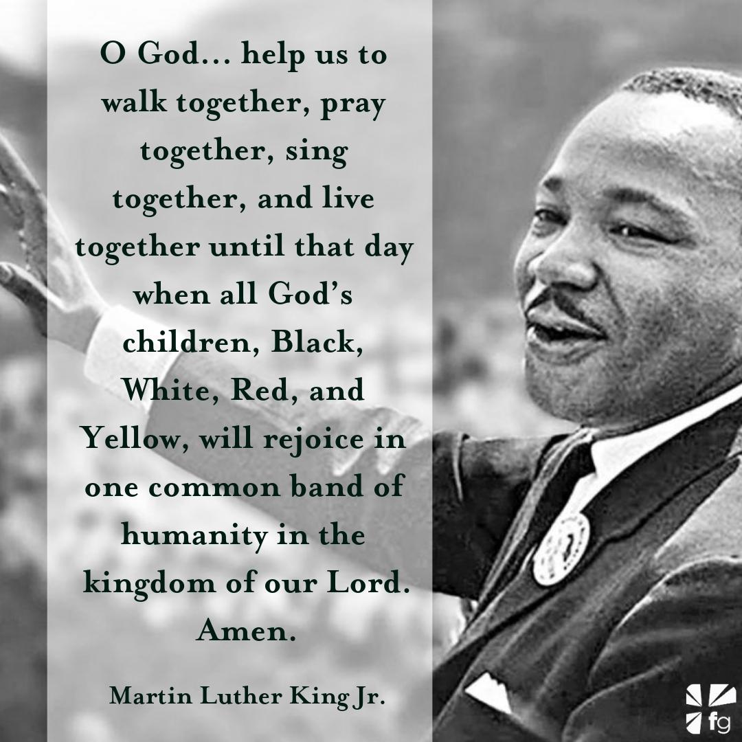 Dangerous Prayers Martin Luther King Jr 19291968