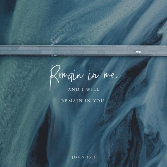John 15:4 NLT