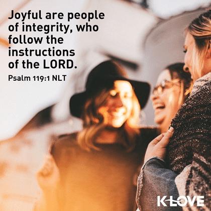 Psalm 119:1 (NLT)