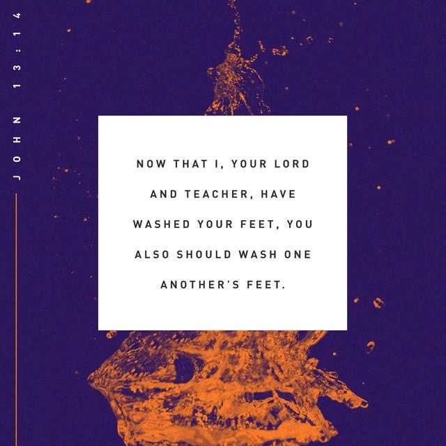 John 13:14 NIV