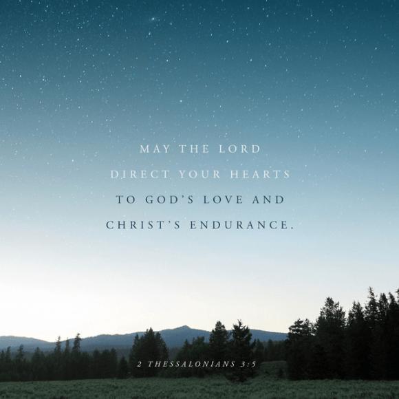 2 Thessalonians 3:5 CSB