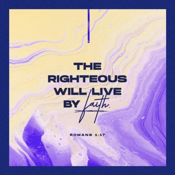 Romans 1:17 CEV