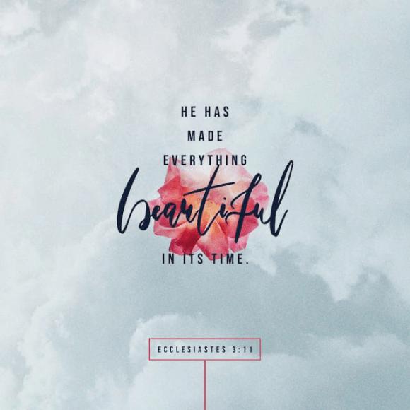 Ecclesiastes 3:11 NIV