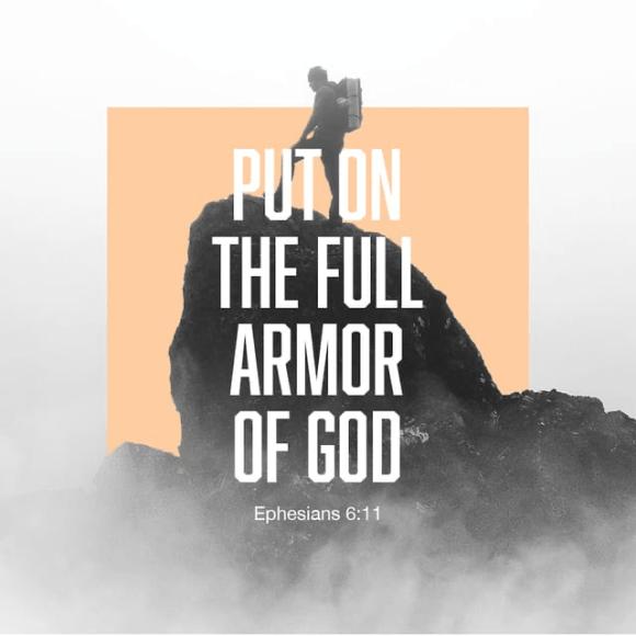 Ephesians 6:11 NIV