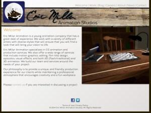 Eric Miller Animation Website