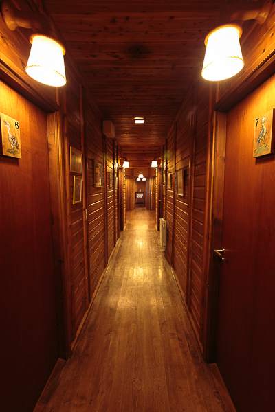 One of the room passageways.