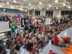The Collicot K-2 Science fair was packed with science enthusiasts including current Pierce students who are Collicot alumni.